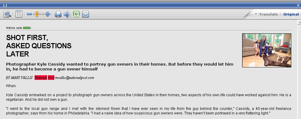 Armed America Reviews